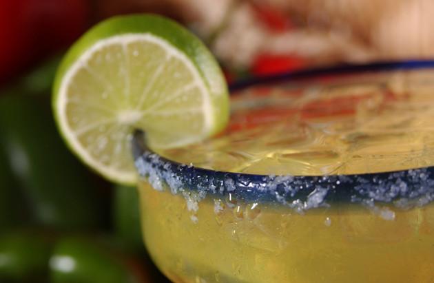 Happy Hour Margarita close up