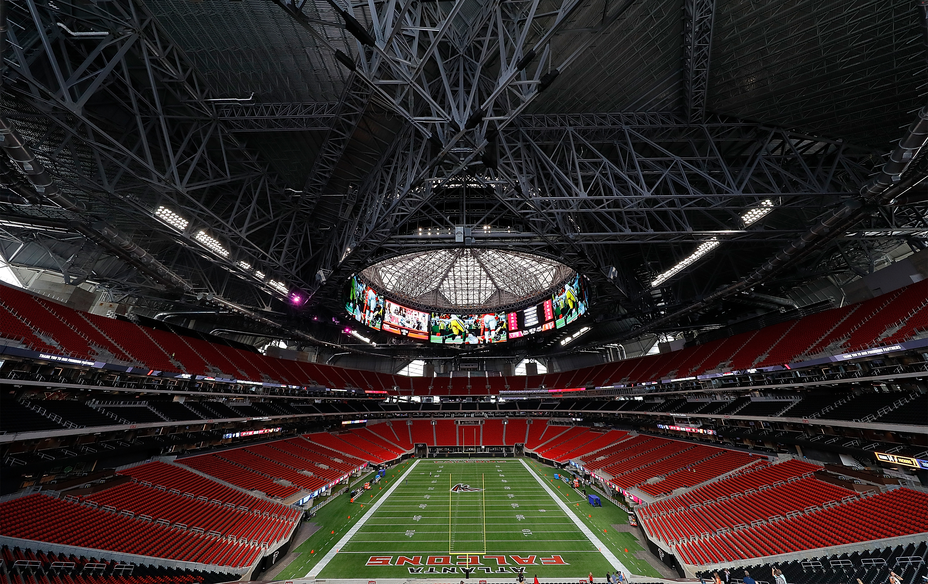 Mercedes-Benz Stadium Walkthrough Tour