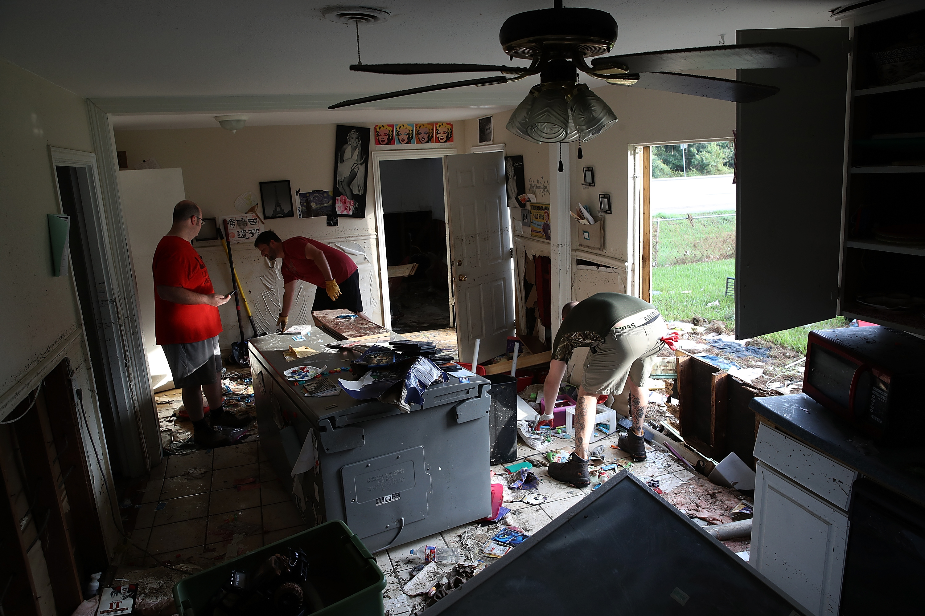 Houston Area Begins Slow Recovery From Catastrophic Harvey Storm Damage
