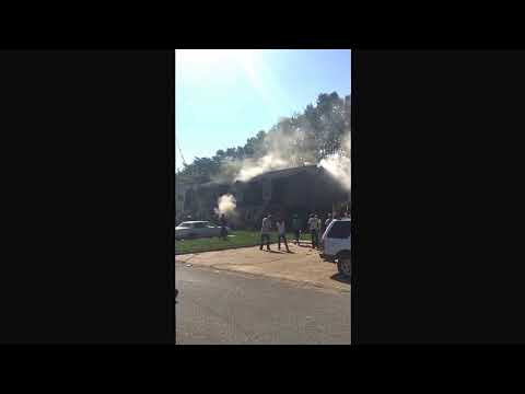 Tuscaloosa Apartment Building Catches Fire……Exclusive Video!